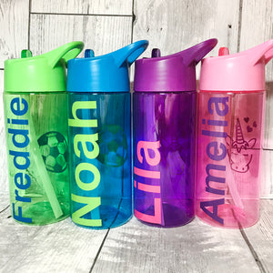 400ml Kids Back To School Water Bottle