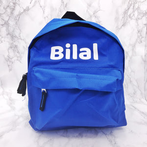 Personalised Kids Back to School Mini Backpack