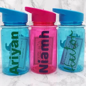 500ml Kids Back To School Water Bottle - Bottles - Molly Dolly Crafts