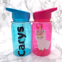 500ml Llama Kids Back To School Water Bottle - Bottles - Molly Dolly Crafts