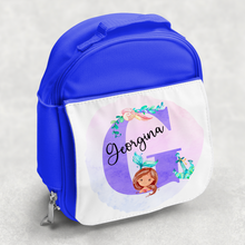Mermaid Alphabet Personalised Kids Insulated Lunch Bag