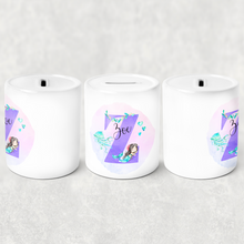 Mermaid Alphabet Money Pot