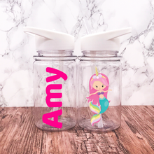 500ml Mermaid Unicorn Kids Water Bottle Back To School - Bottles - Molly Dolly Crafts