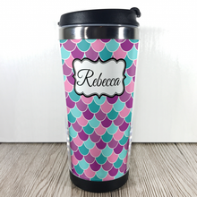 Mermaid Scale 420ml Travel Mug with Option to Personalise