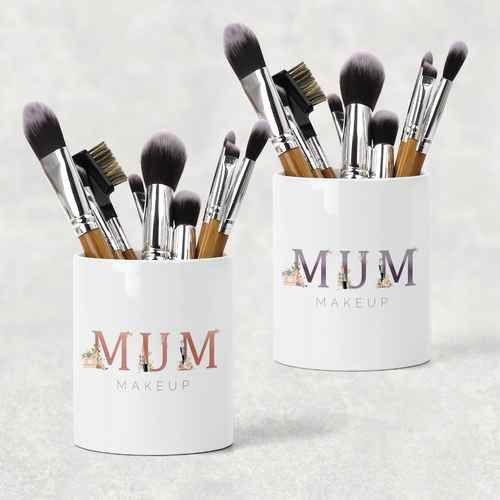 Mum Mam Nan Mother's Day Pencil Caddy / Make Up Brush Holder