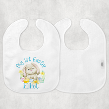 My 1st Easter New Baby Vest Bib Hat Dribble Cloth Gift Set