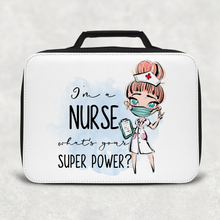 I'm a Nurse What's Your Superpower? Personalised Insulated Lunch Bag