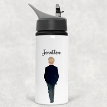 Page Boy Personalised Wedding Straw Bottle 650ml