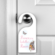 Princess Prince Personalised Room Door Hanger