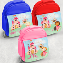 Princess Personalised Kids Insulated Lunch Bag