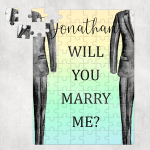 Will you Marry Me? Proposal A5 80pc Jigsaw