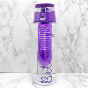 Personalised 700ml Adult Fruit Infuser Water Bottle - Bottles - Molly Dolly Crafts