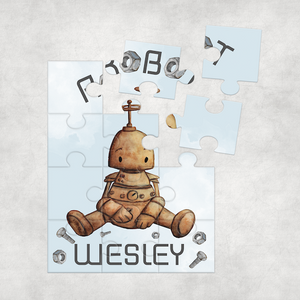 Robot Baby Jigsaw Various Sizes & Pieces