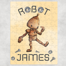 Robot Jigsaw Various Sizes & Pieces