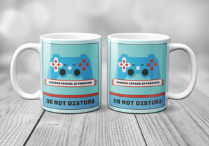 Serious Gaming Do Not Disturb Mug - Mug - Molly Dolly Crafts
