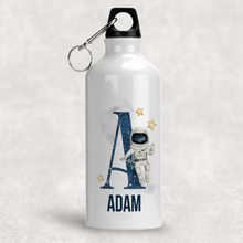 Space Alphabet Personalised Aluminium Water Bottle 400/600ml
