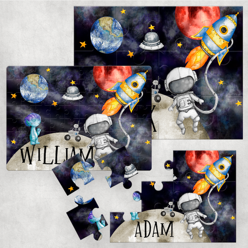 Space Personalised Jigsaw Various Sizes & Pieces
