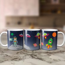 Space Themed Kids Unbreakable Mug - Mug - Molly Dolly Crafts