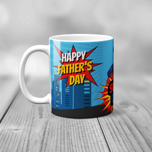 Super Dad Father's Day Mug - Mug - Molly Dolly Crafts