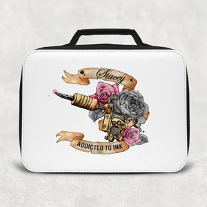 Tattoo Addicted to Ink Personalised Insulated Lunch Bag