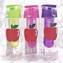 Personalised Teacher 700ml Adult Fruit Infuser Water Bottle | Teacher End of School Gift - Bottles - Molly Dolly Crafts