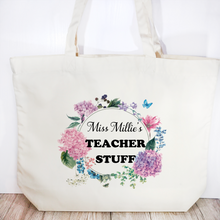 Teacher Stuff Personalised Tote Bag Teacher Gift - Tote Bag - Molly Dolly Crafts