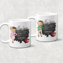Teacher Superhero Personalised Mug