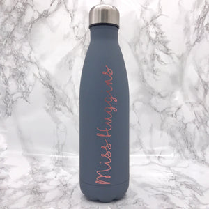 Personalised Travel Flask