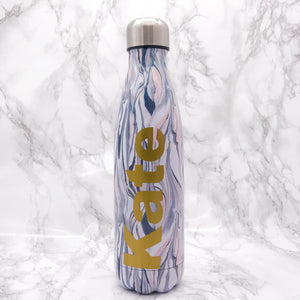 Personalised Travel Flask - Bottles - Molly Dolly Crafts