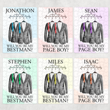 Will you be my Page Boy, Ring Bearer, Usher, Best Man Proposal Jigsaw Various Sizes