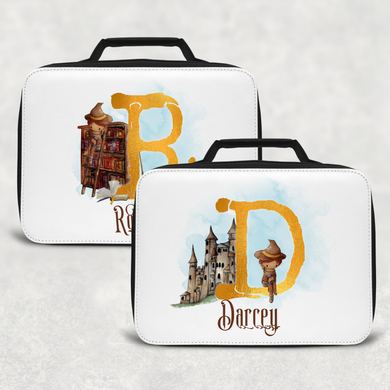 Wizard Alphabet Personalised Insulated Lunch Bag