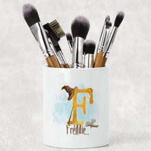 Wizard Alphabet Watercolour Pencil Caddy / Make Up Brush Holder