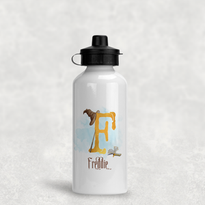 Wizard Alphabet Personalised Aluminium Water Bottle 400/600ml