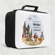 Wizard Believe in Magic Personalised Insulated Lunch Bag