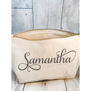 Personalised Make Up Bag - Make Up Bag - Molly Dolly Crafts