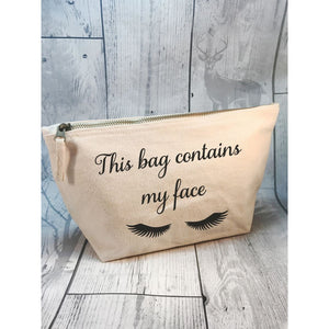This Bag Contains My Face Make Up