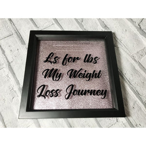 Weight Loss Money Box Frame Aid