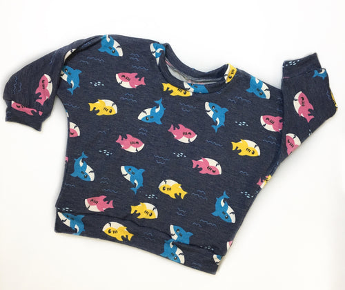 Tiny Sharks Lounge Sweaters