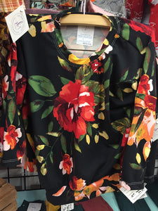 Sugar and Spice Floral Tops