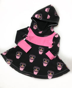 3-12M Owls Grow with Me Dress