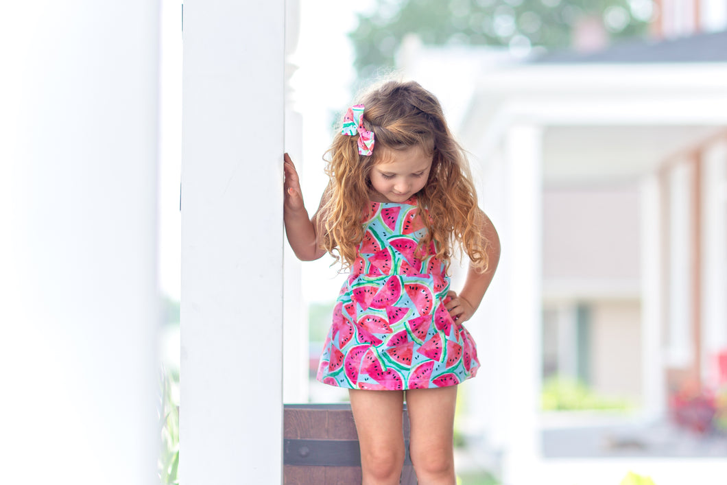 One in a Melon Peplum & Bloomers