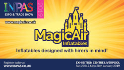 We're going to Liverpool for the Bouncy Castle Sales  Exhibition