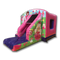 Princess Combi Bouncy Castle - Pink & Purple