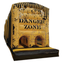 3 Part Obstacle Course - Danger Zone Theme (Yellow / Black)