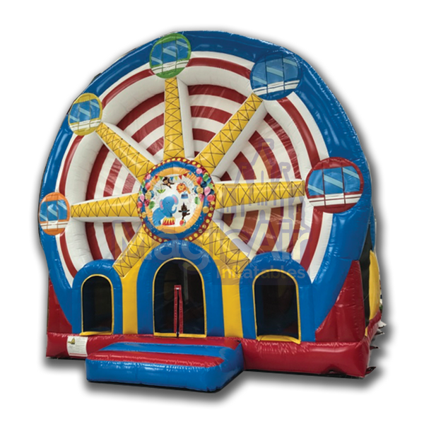Mega Bounce & Slide - Carousel / Ferris Wheel Theme