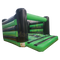 17 x 20 Standard Adult Bouncy Castle - Black & Green
