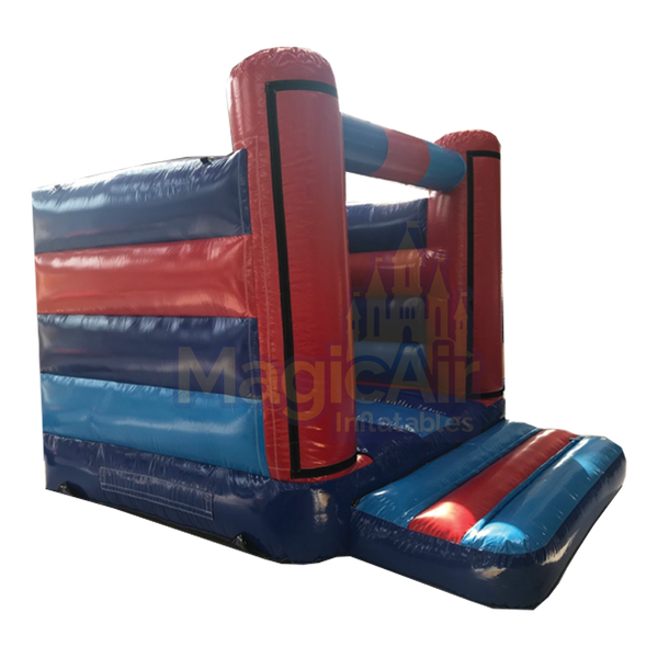 Standard Beam Bouncy Castle (Velcro Panels) - Red / Blue
