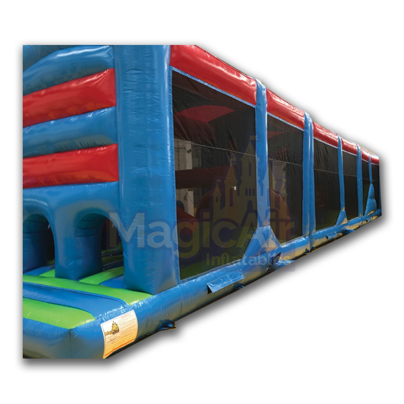 3 Part Obstacle Course - Plain Red / Blue / Green