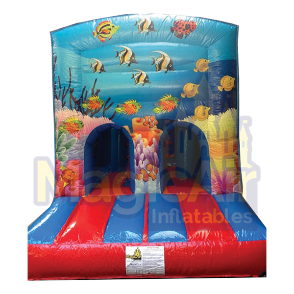Fun Run & Slide - Undersea Theme