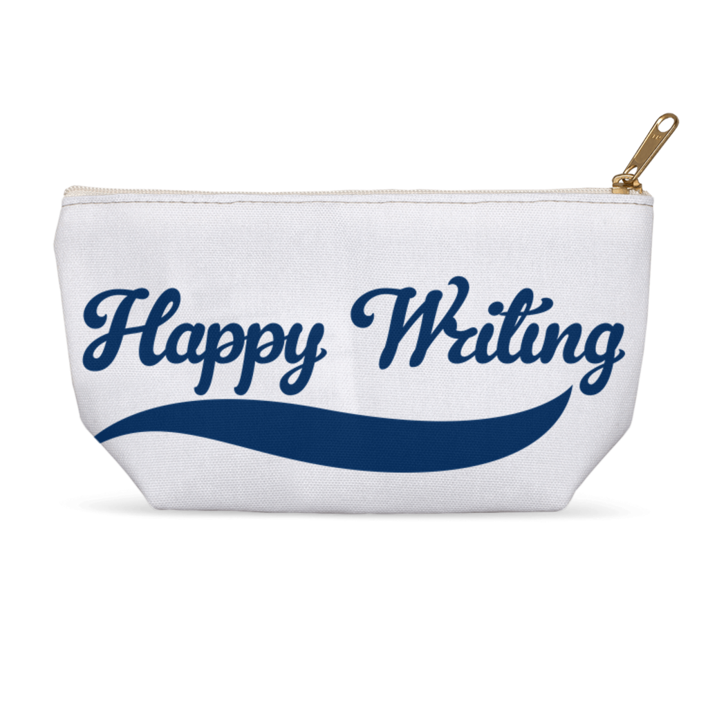 Happy Writing  Accessory Pouches
